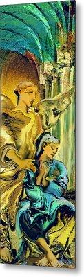 Angel Of Mercy Metal Print by Anne Weirich