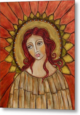 Angel Of Nature Metal Print by Rain Ririn