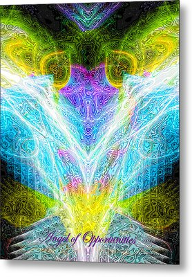 Angel Of Opportunities Metal Print by Diana Haronis