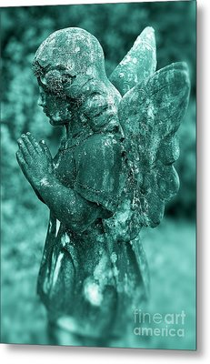 Angel Prayer Metal Print by John Greim