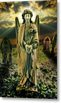 Angelic Light In Color Metal Print by Meirion Matthias