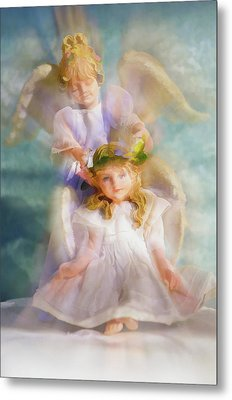Angelic Metal Print by Tom Druin