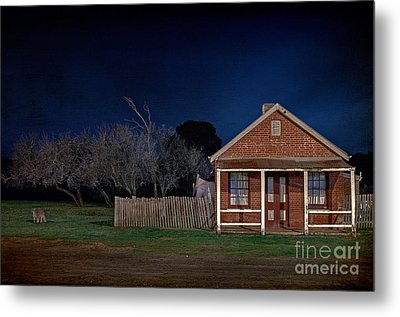 Another Aussie Night Metal Print by Russ Brown