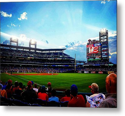 Another Day At The Diamond Metal Print by Adam Milsted
