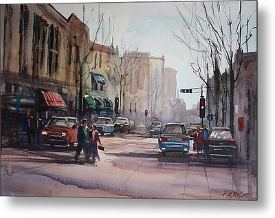Another Day In Fond Du Lac Metal Print by Ryan Radke