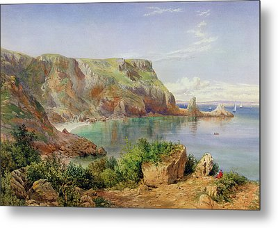 Ansty's Cove Metal Print by John William Salter