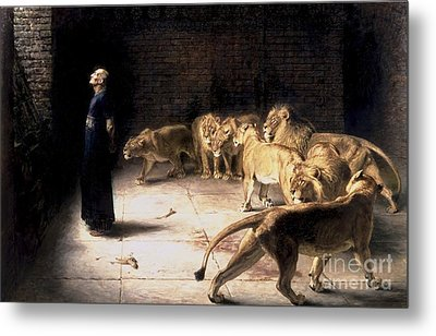 Answer To The King Metal Print by Briton Riviere