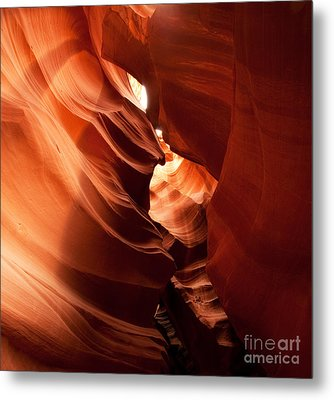 Antelope Canyon Metal Print by Matt Tilghman