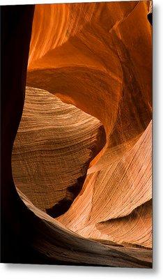 Antelope Canyon No 3 Metal Print by Adam Romanowicz
