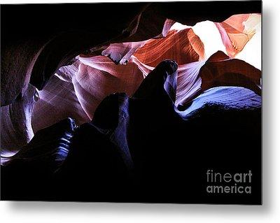 Antelope Slot Canyons Metal Print by Ryan Kelly
