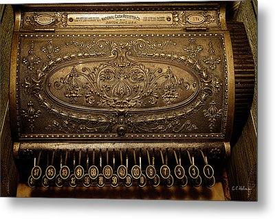 Antique Ncr Metal Print by Christopher Holmes