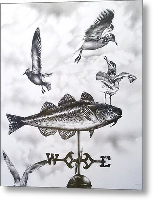 Any Way The Wind Blows Metal Print by Michael Lee Summers