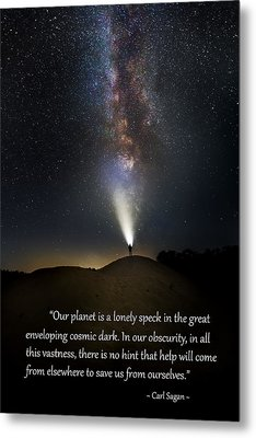 Anybody Out There Metal Print by Bill Wakeley
