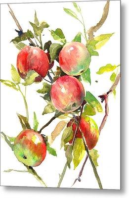 Apple Tree Metal Print by Suren Nersisyan