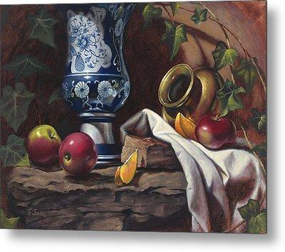 Apples And Oranges Metal Print by Timothy Jones