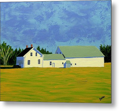 April Afternoon Route 17 Metal Print by Laurie Breton