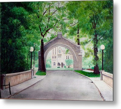 Arches Of Shadduck St Mary Metal Print by Marcus Moller