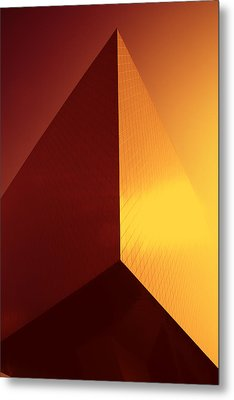 Architecture 3000 Metal Print by Falko Follert