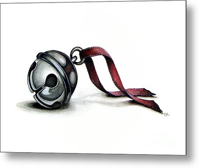 Are You Listening Metal Print by Christina Meeusen