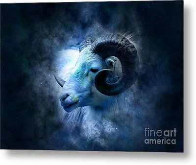 Aries Metal Print by Frederick Holiday