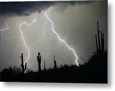Arizona Desert Storm Metal Print by James BO  Insogna