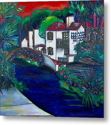 Arneson Theater Metal Print by Patti Schermerhorn