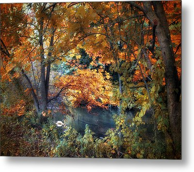 Art Of Autumn Metal Print by Jessica Jenney
