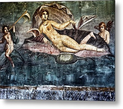 Art Of Pompei Metal Print by Joachim G Pinkawa