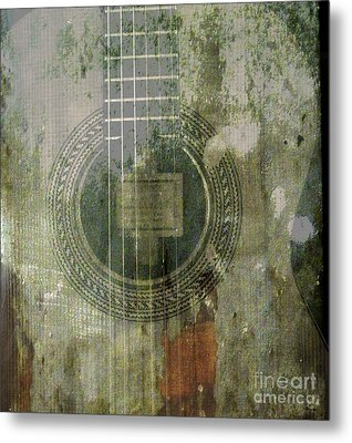 As In The Classical Measure Of Time Metal Print by Steven  Digman