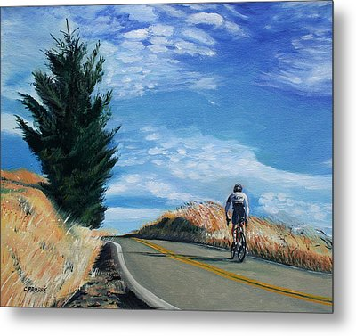 Ascent Metal Print by Colleen Proppe