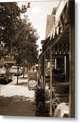 Asheville Street Metal Print by Utopia Concepts