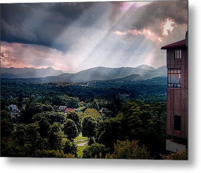 Asheville Sunset Metal Print by Jim Hill