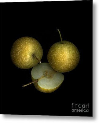 Asian Pears Metal Print by Christian Slanec