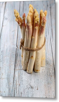 Asparagus Metal Print by Nailia Schwarz