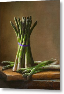 Asparagus  Metal Print by Robert Papp