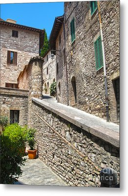 Assisi Italy Metal Print by Gregory Dyer
