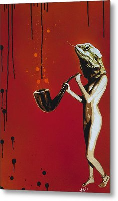 Assuaged Approach Metal Print by Tai Taeoalii