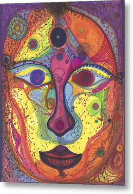Asta Metal Print by Daina White