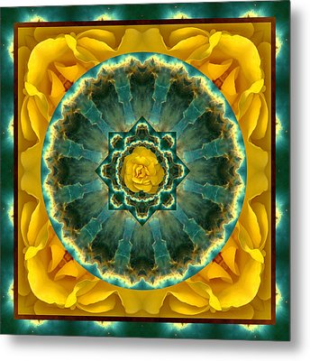 Astral Rose Metal Print by Bell And Todd