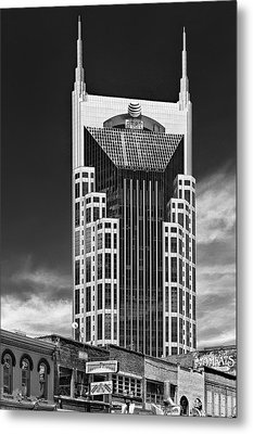 At And T Nashville Metal Print by Ian Barber
