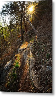 At Peace With Yourself - Bella Vista Arkansas Metal Print by Lourry Legarde
