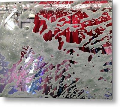 At The Car Wash 4 Metal Print by Marlene Burns