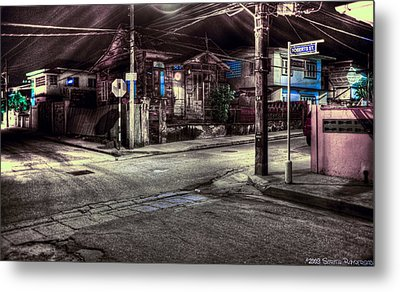 At The Crossroads... Metal Print by Sarita Rampersad