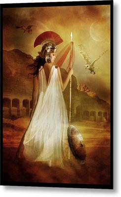 Athena Metal Print by Mary Hood