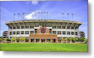 Auburn University Jordan Hare Stadium Metal Print by JC Findley