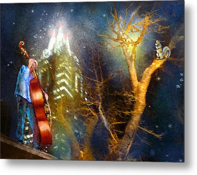 Austin Nights 02 Metal Print by Miki De Goodaboom