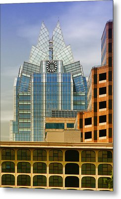 Austin Speaks Metal Print by Wendy J St Christopher