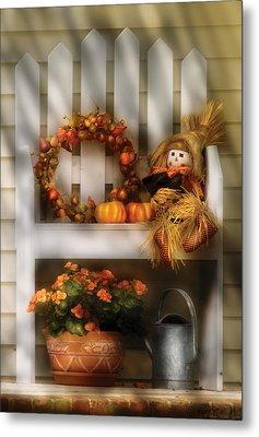 Autumn - Still Life - Symbols Of Autumn  Metal Print by Mike Savad
