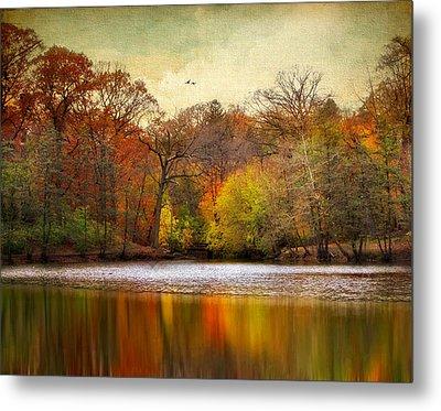 Autumn Arises 2 Metal Print by Jessica Jenney