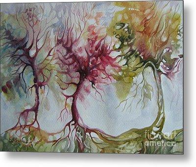 Autumn Colors Metal Print by Elena Oleniuc